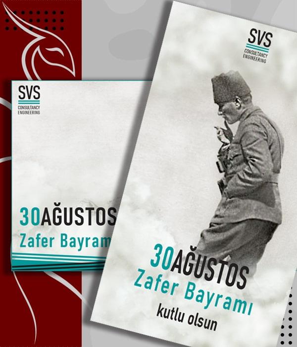 Sosyal Medya - Grafik Tasarim - 30 Agustos Zafer Bayramı