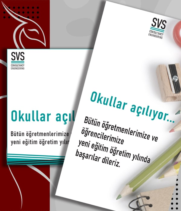 Sosyal Medya - Grafik Tasarim - Okullar Açılıyor